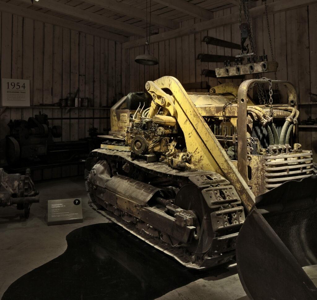 Baumaschinen-Werkstatt