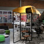 Büromöbelausstellung in der Ausstellungshalle