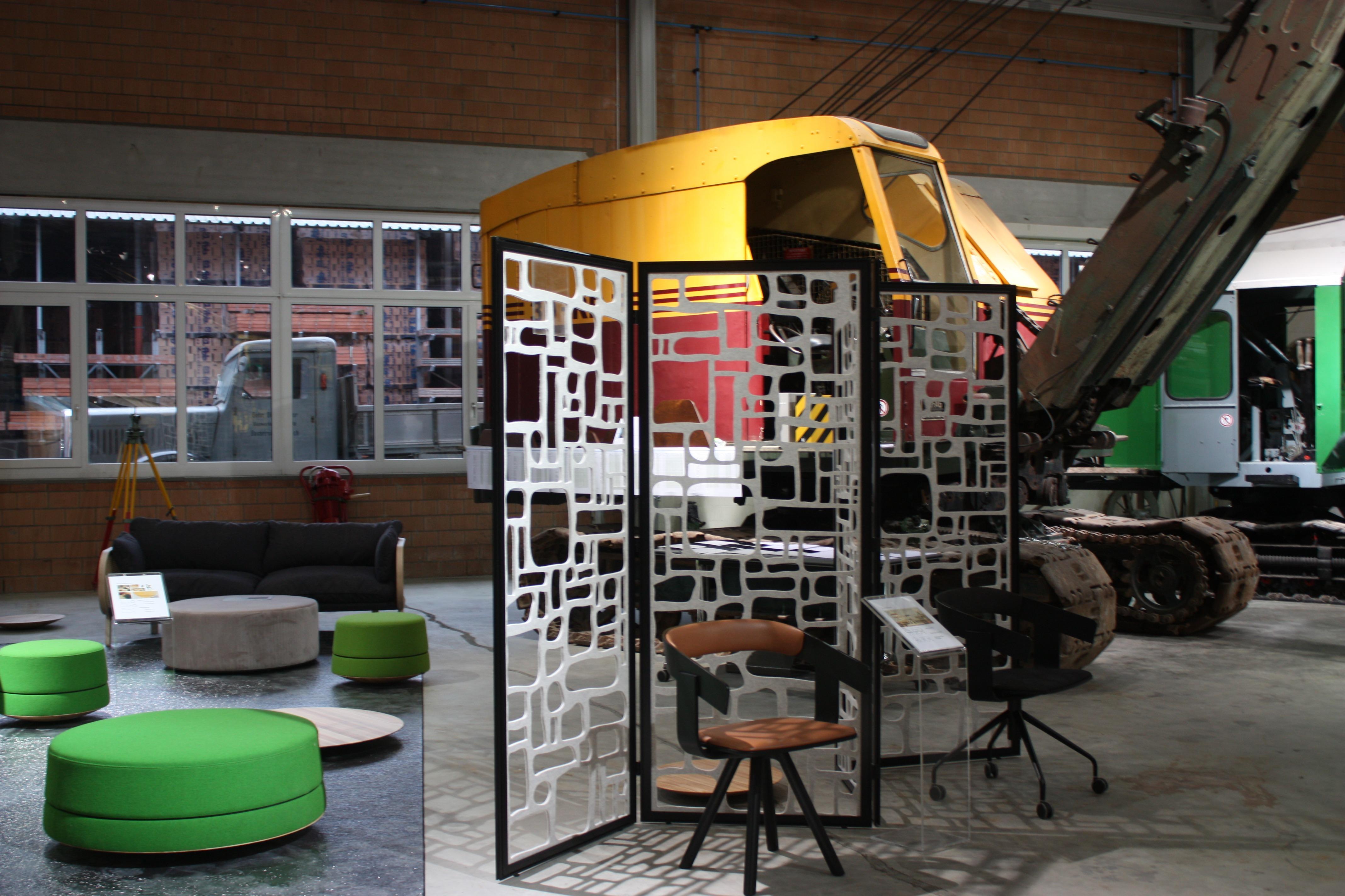 EBIANUM Büromöbelausstellung in der Ausstellungshalle - EBIANUM