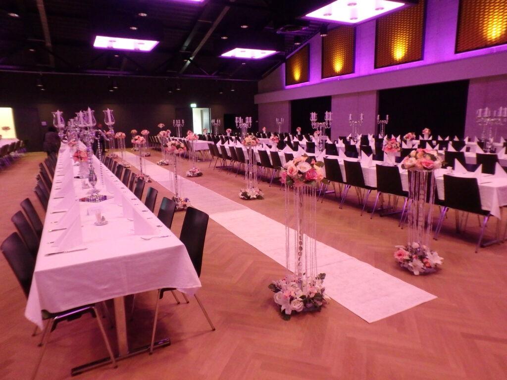 Hochzeit im Eventsaal
