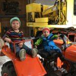Traktor steuern