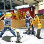 Baustelle im Sandkasten