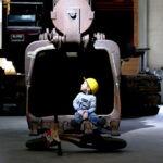 Staunen über die grossen Maschinen