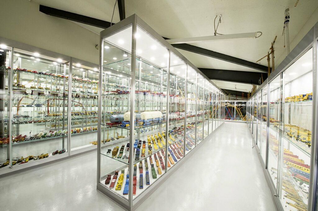 Modellausstellung: Über 3'000 Baumaschinenmodelle