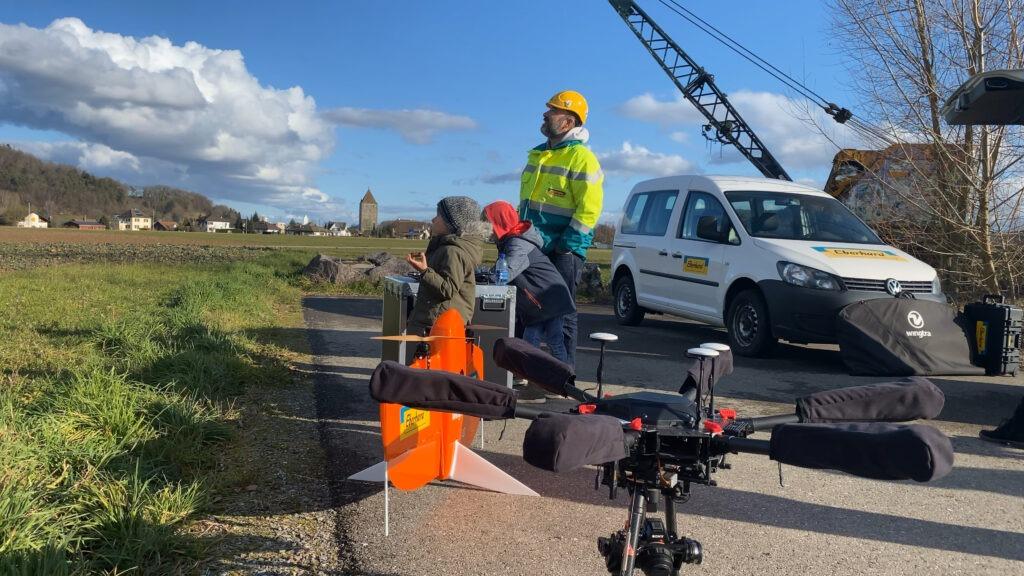 Drohnen fliegen am ebi YOUNG Day