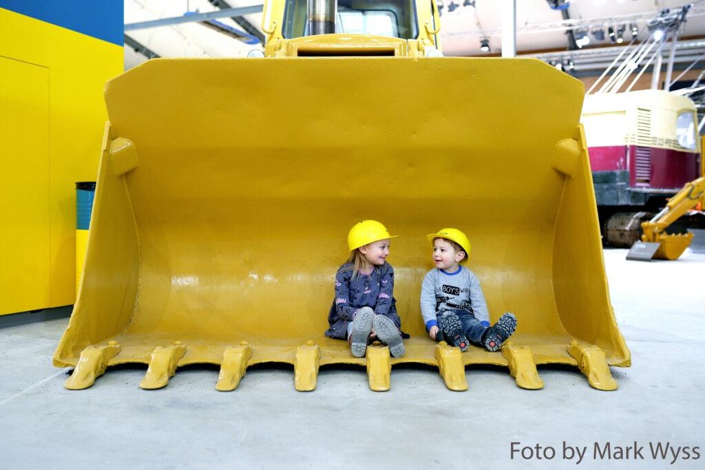 Riesige Maschinen als Paradies für Kinder
